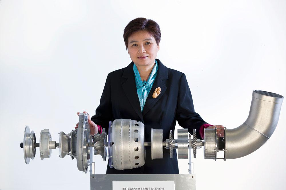 Lab 22 3D printing jet engine