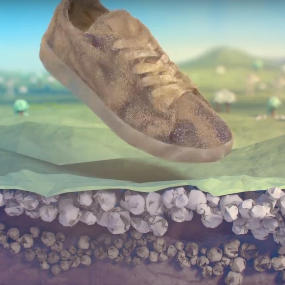 The Reebok Cotton + Corn shoes.
