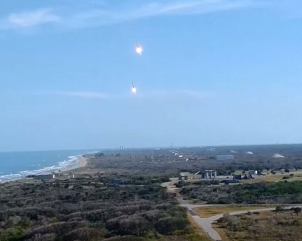 SpaceX boosters landing
