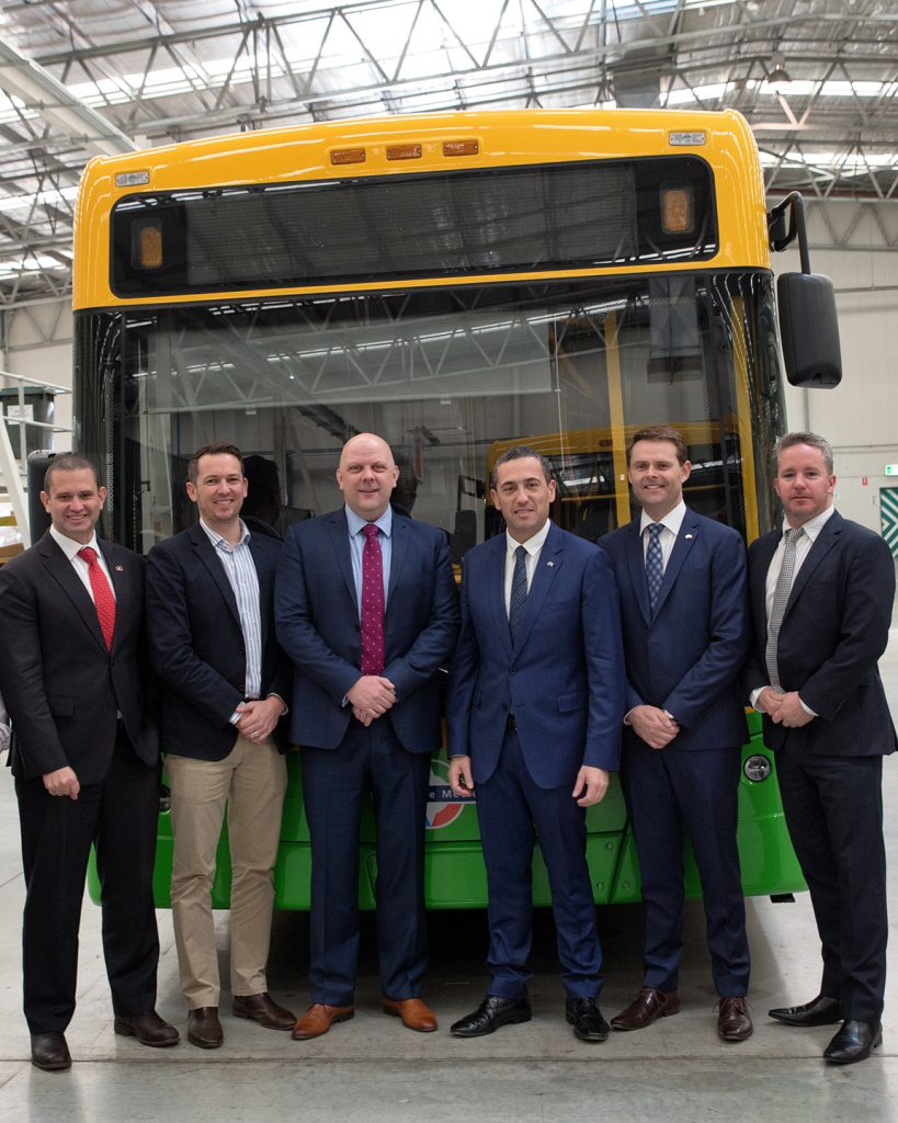 electric bus in South Australia