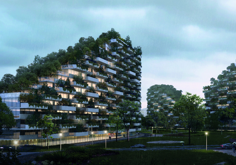 China is building a new city that will be home to more for Liuzhou forest city