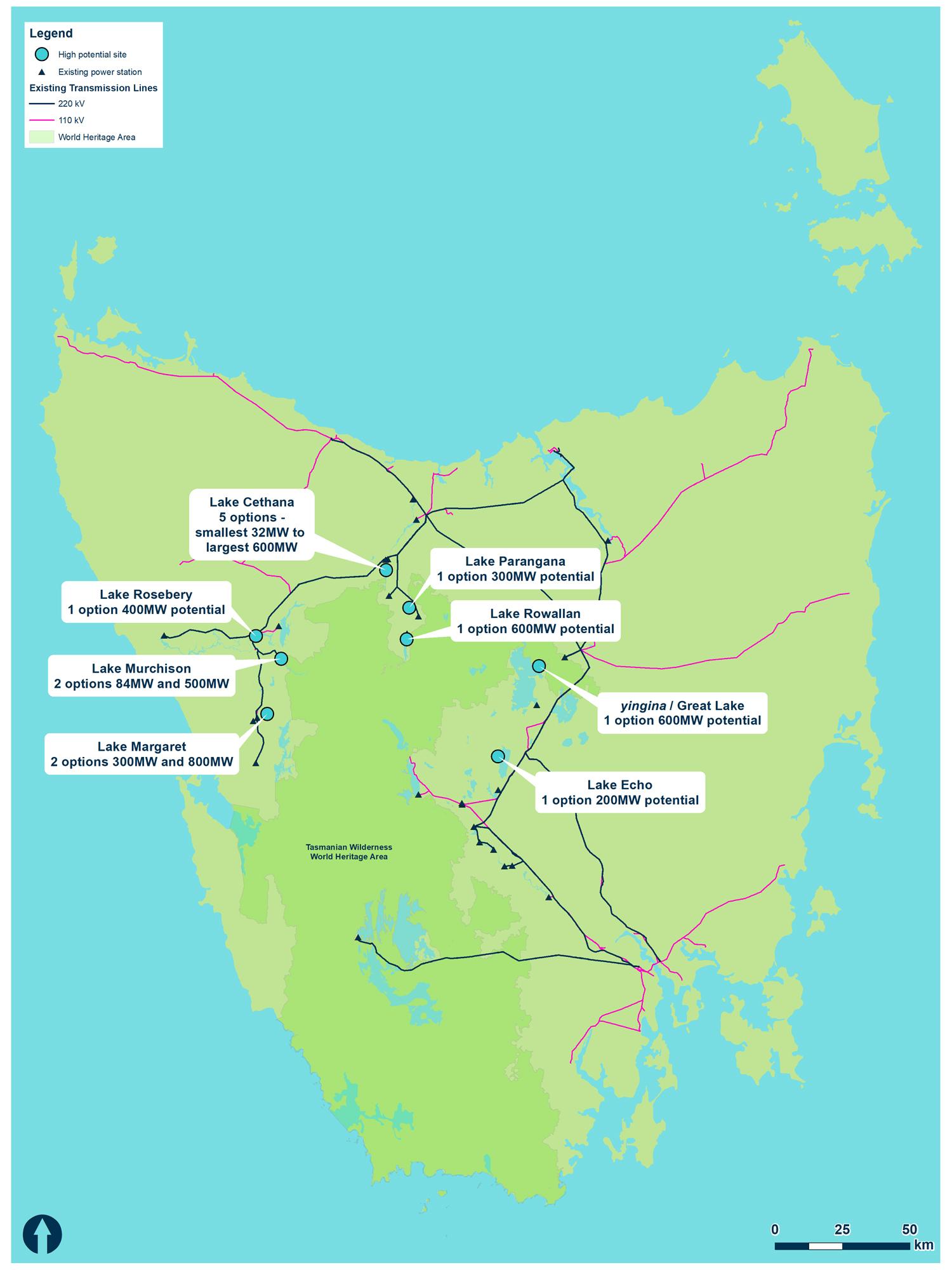 pumped hydro Tasmania