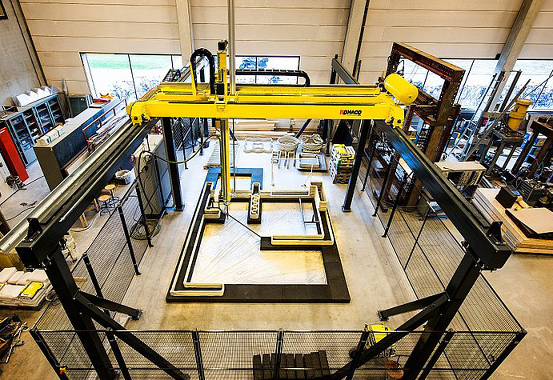 3D printing houses
