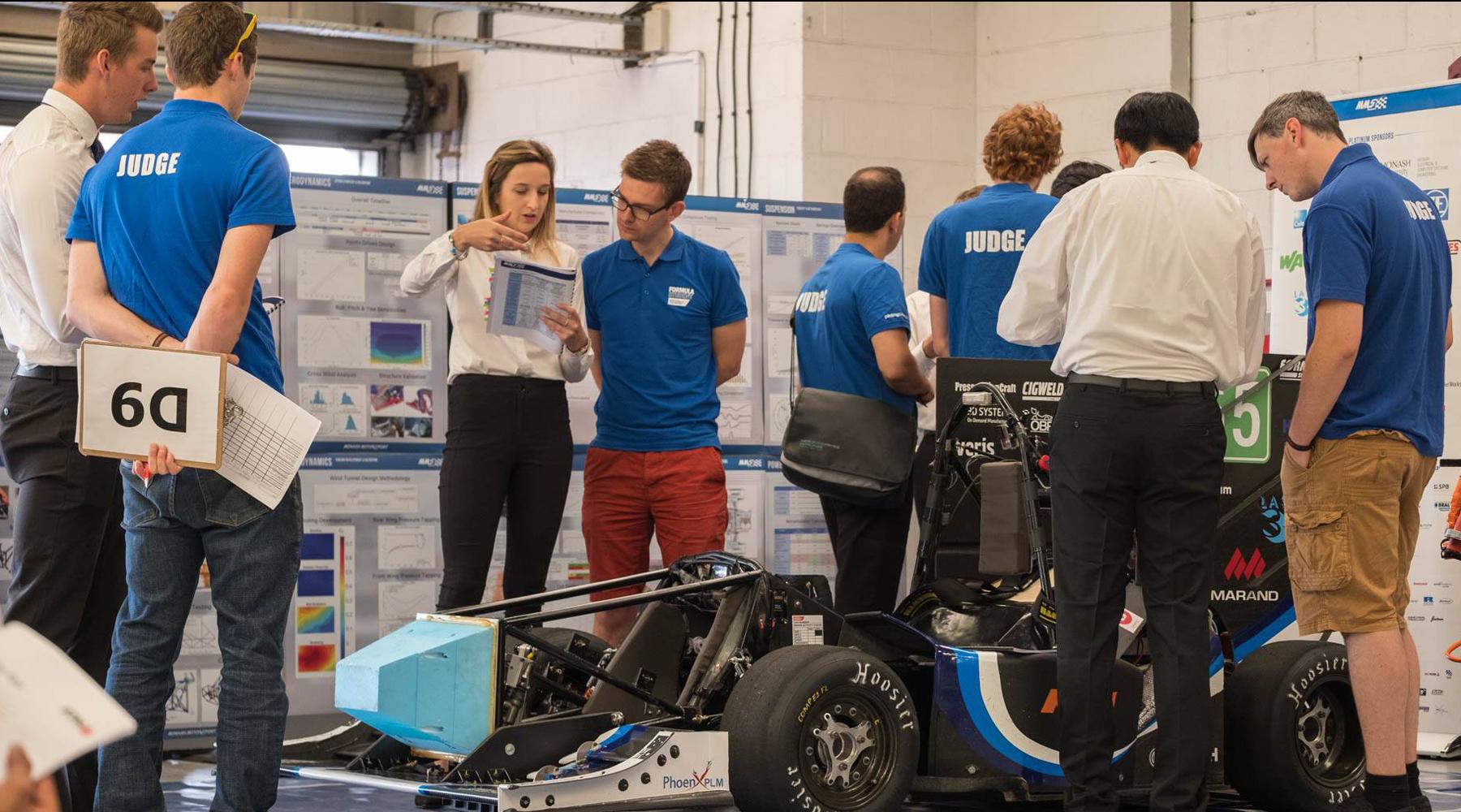Monash Motorsport electric car team