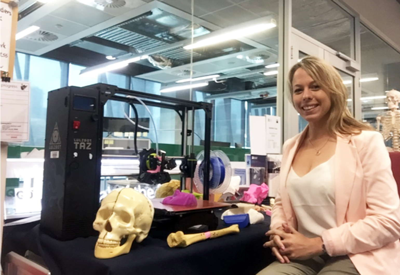 Mathilde Desselle sits at the intersection of biotech and manufacturing: aka biofabrication