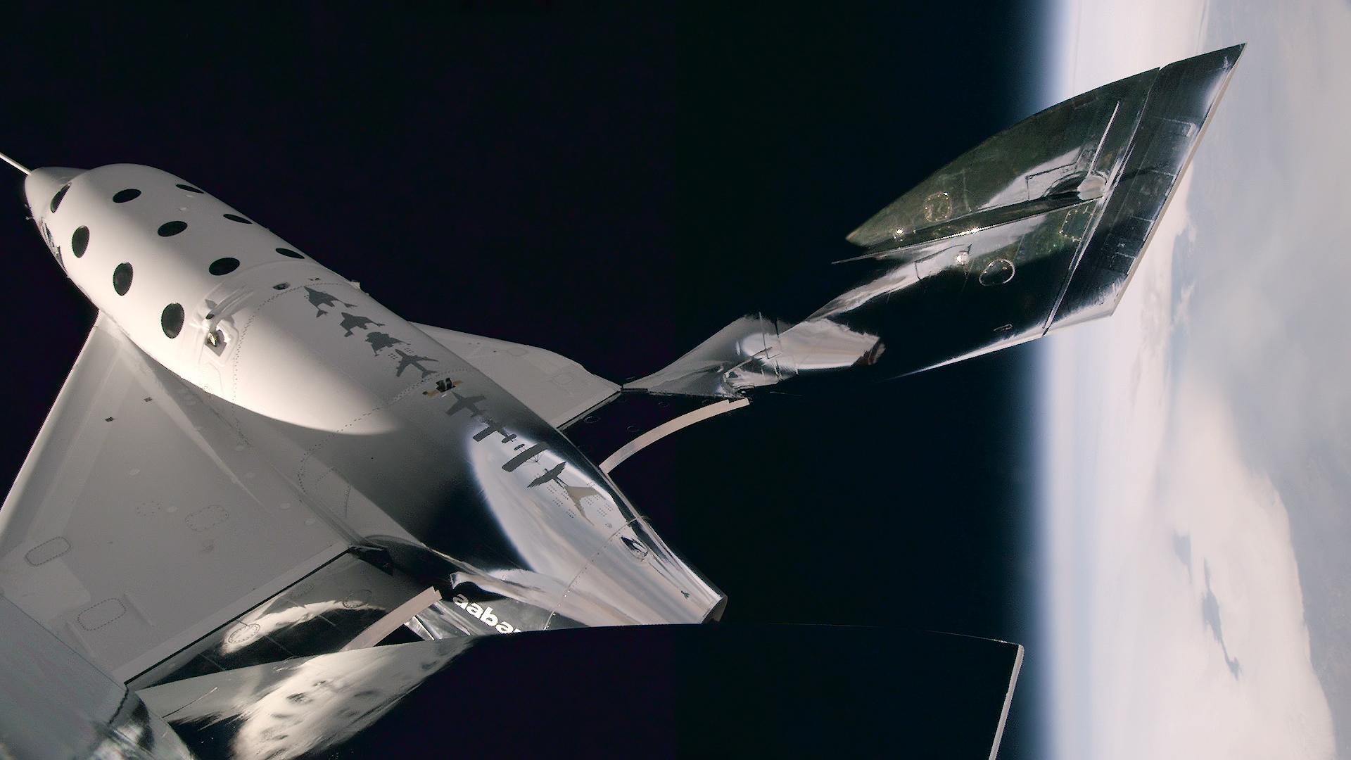 Virgin Galactic space flight