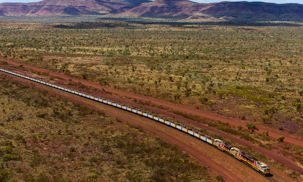 Rio Tinto mining industry autonomous train