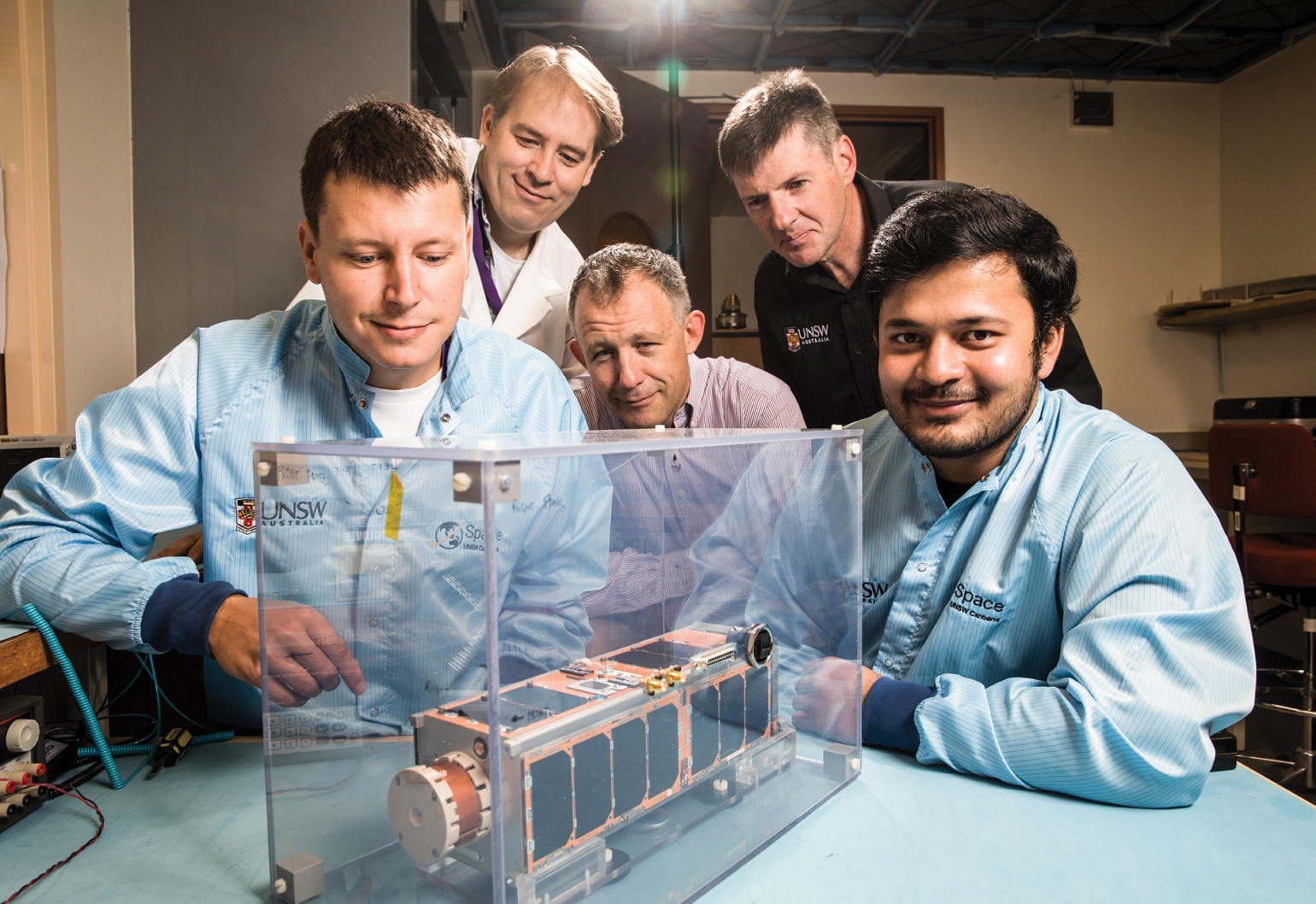 space research engineers