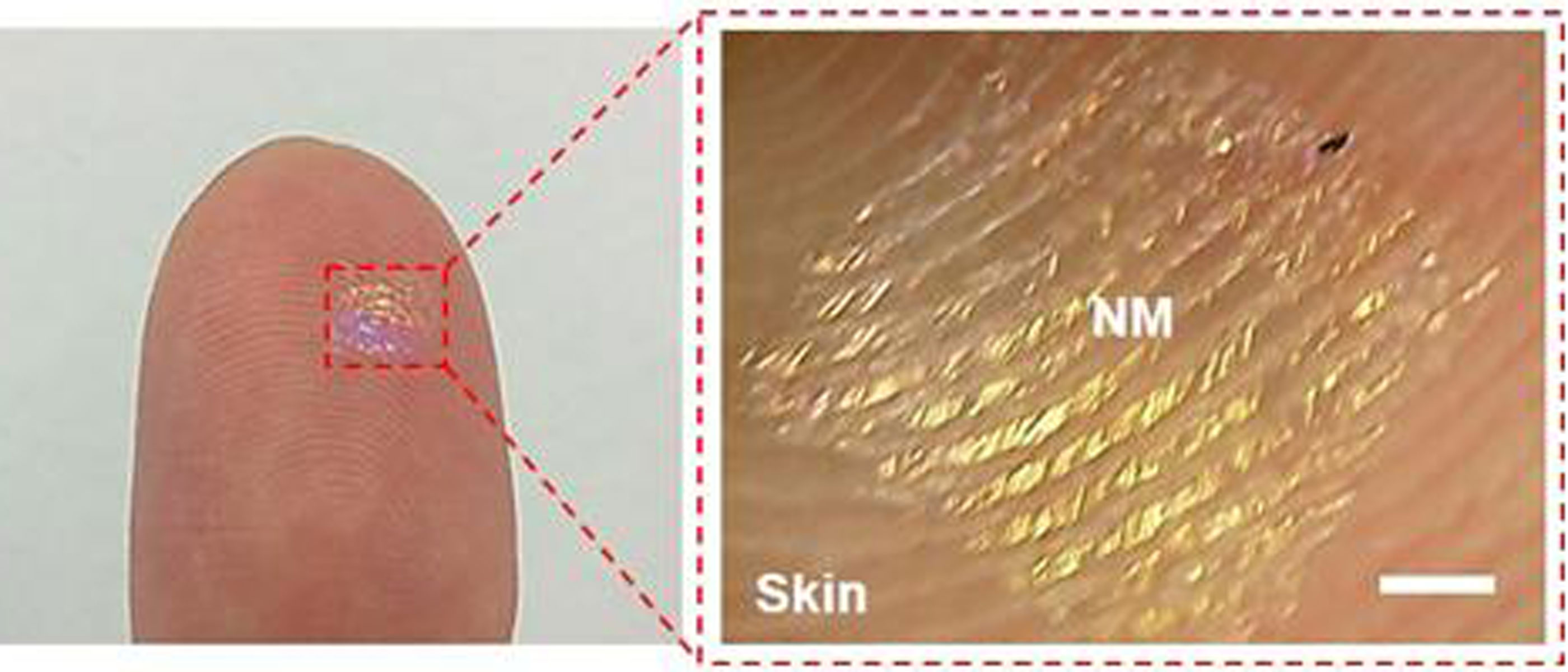 wearable nanospeakers made from nanomembranes