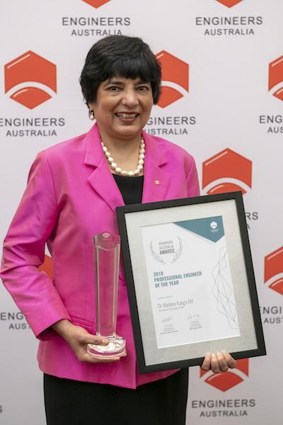 2018 Engineer of the Year Dr Marlene Kanga