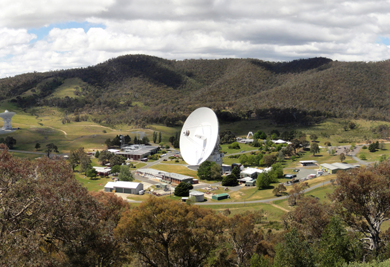 The Canberra Deep Space Communication Complex
