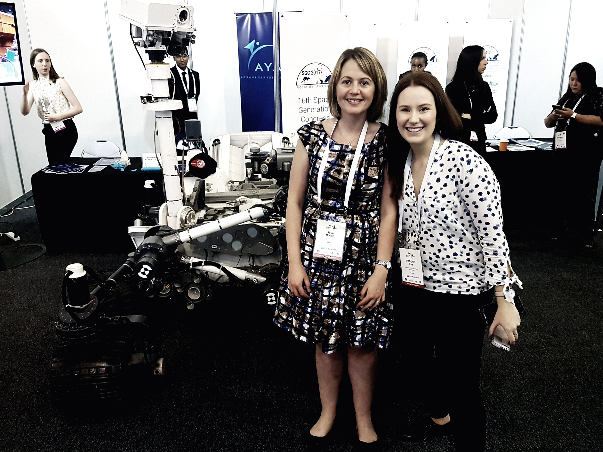 Julia Mitchell, SBAS Test-Bed Program Manager, FrontierSI