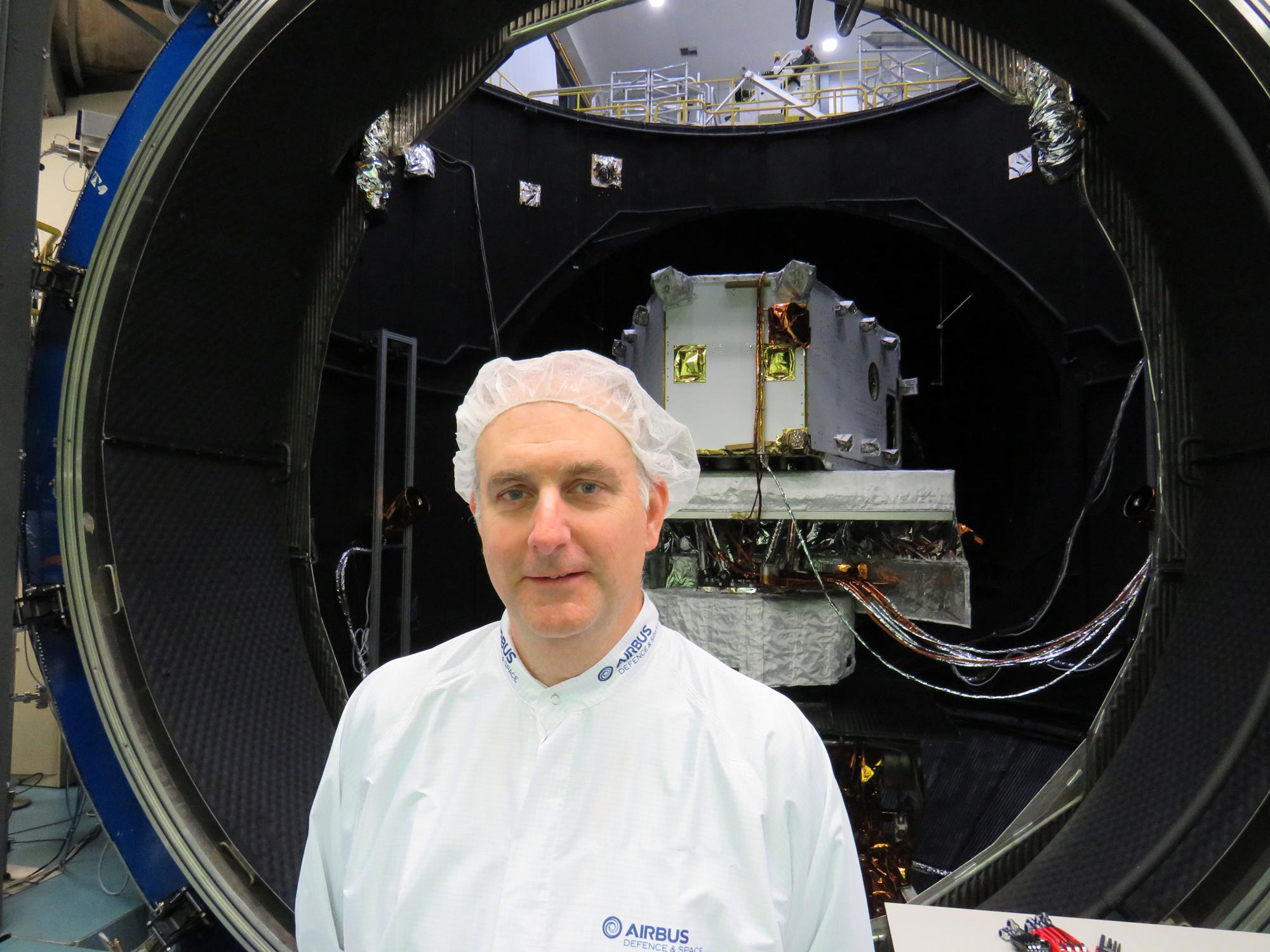 space engineer Sean Tuttle