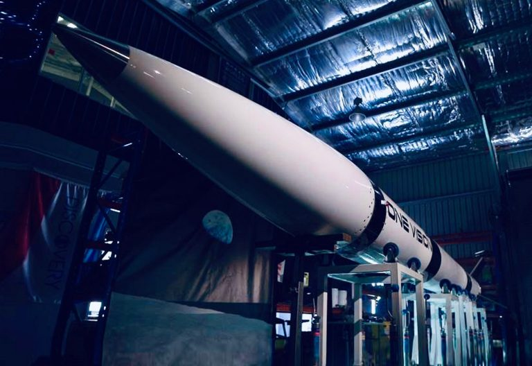 Queensland One Vision rocket to launch domestic space industry
