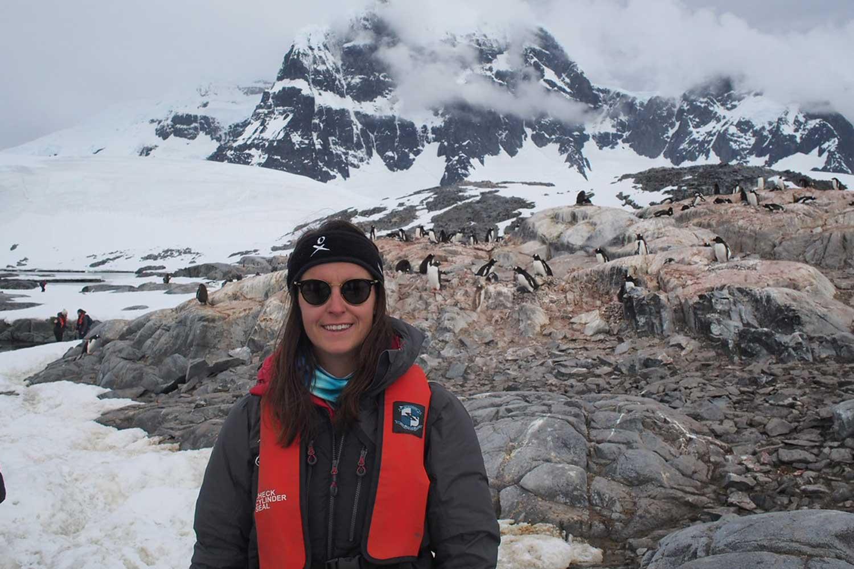 Homeward Bound engineer Kelsie Clarke