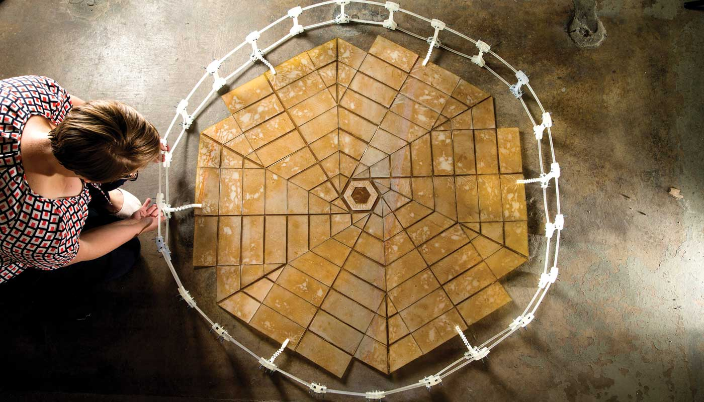 origami-inspired engineering for solar panel arrays