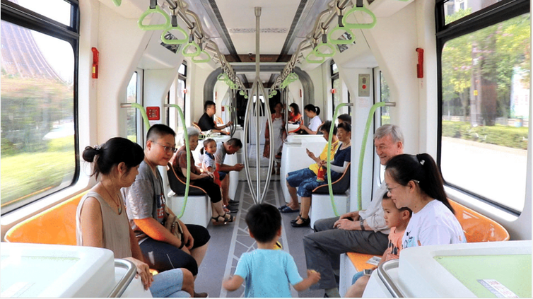 trackless trams pass the ride quality test