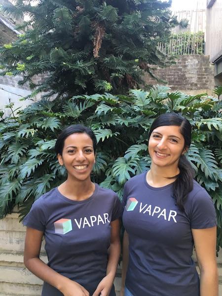 VAPAR Business Manager Amanda Siqueira and Technical Director Michelle Aguilar
