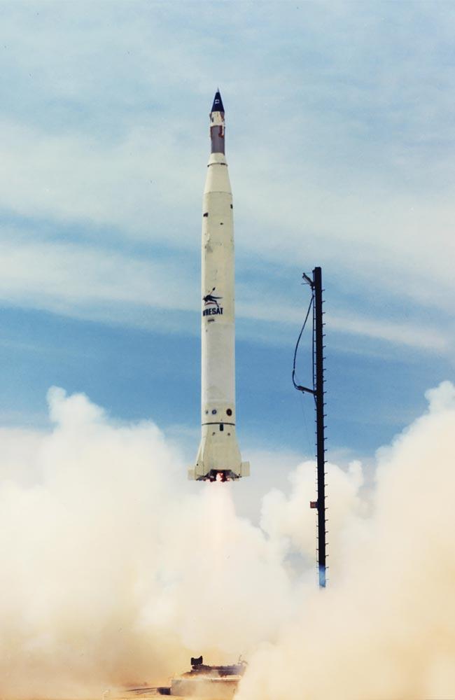 WRESAT, Australia's first satellite