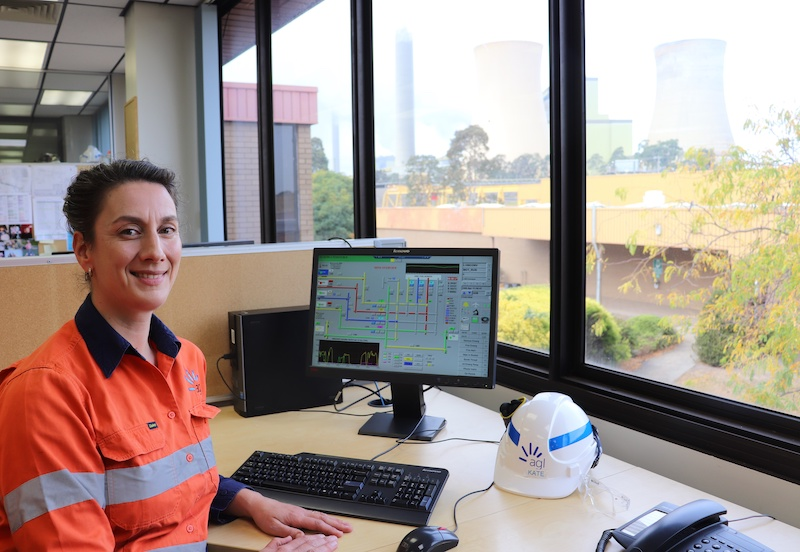 AGL Chartered engineer Kate Wenig