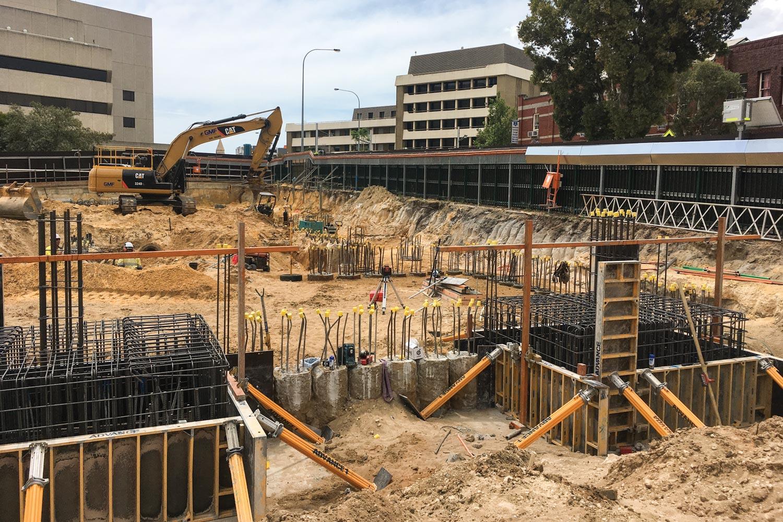 Laying foundations. (Image: WA Museum)
