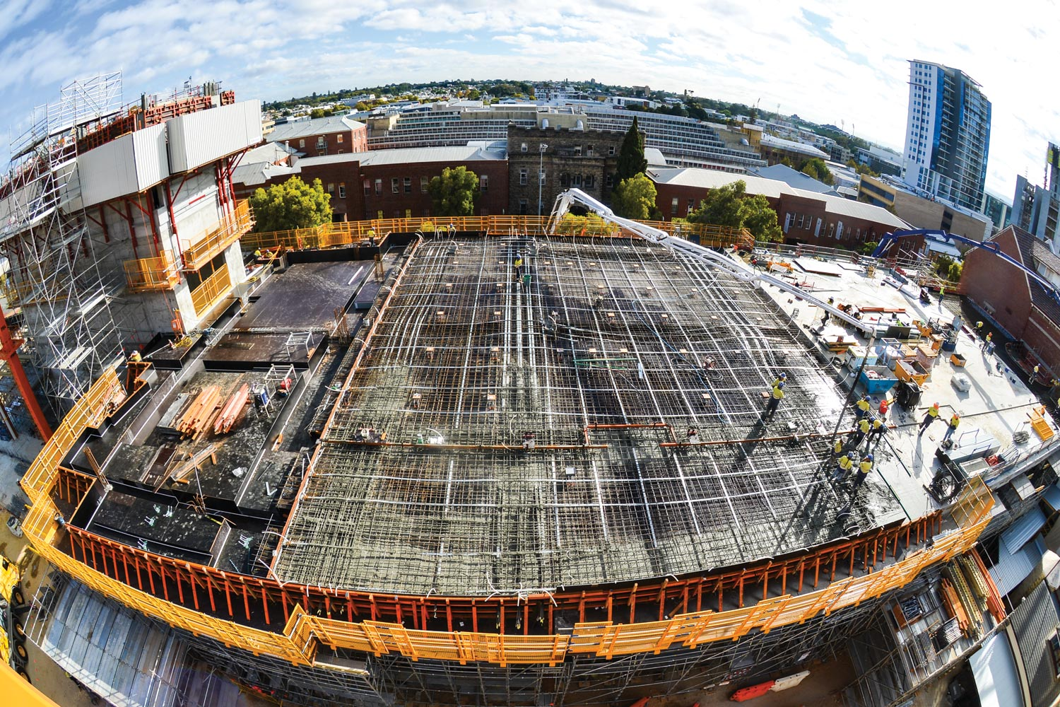 The upper level gallery slab. (Image: WA Museum)