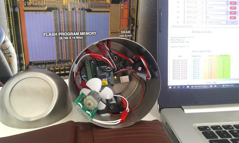 A miniature prototype of the BiobiN