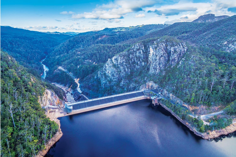pumped hydro in Tasmania