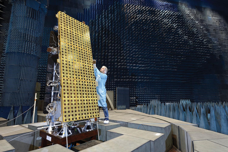 The NovaSAR-1 satellite