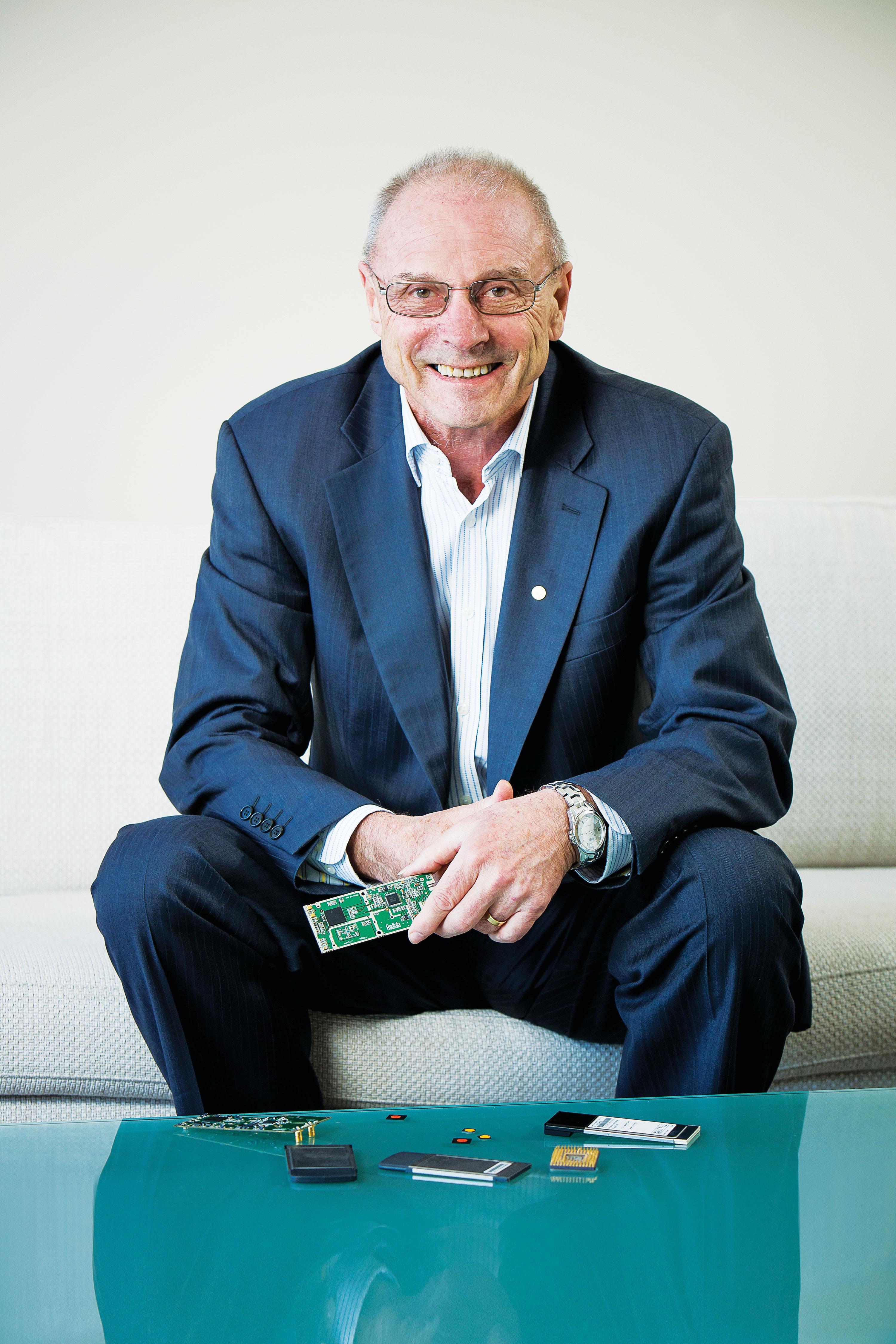 John O'Sullivan helped invent WiFi
