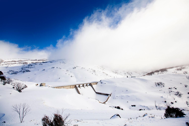 Guthega Dam. (Image: Snowy Hydro Limited)