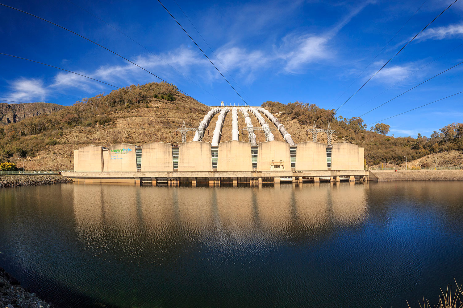The Tumut power station. (Image: Snowy Hydro)