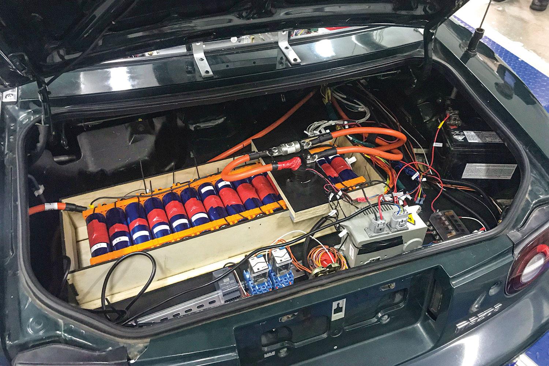 Electric motor.