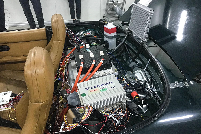 Battery storage.