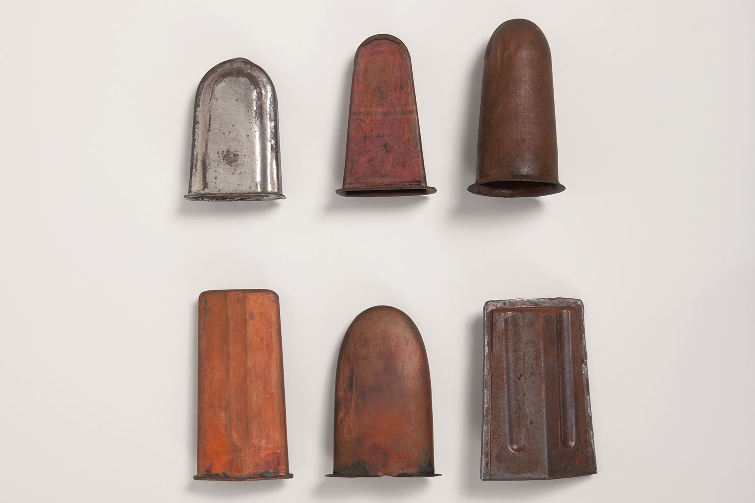 Paddle pop moulds, made between 1950-1960.