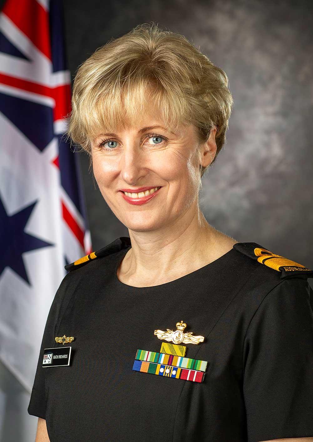 Rear Admiral Kath Richards FIEAust, Head of Navy Engineering