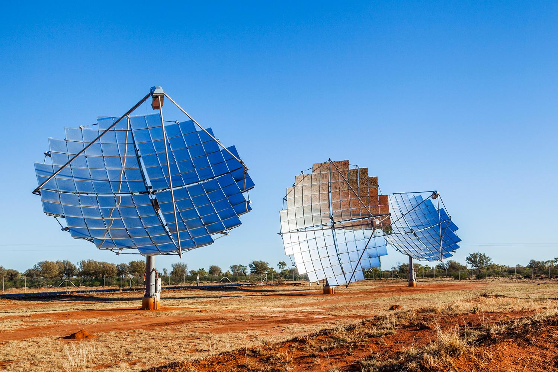 Solar dishes