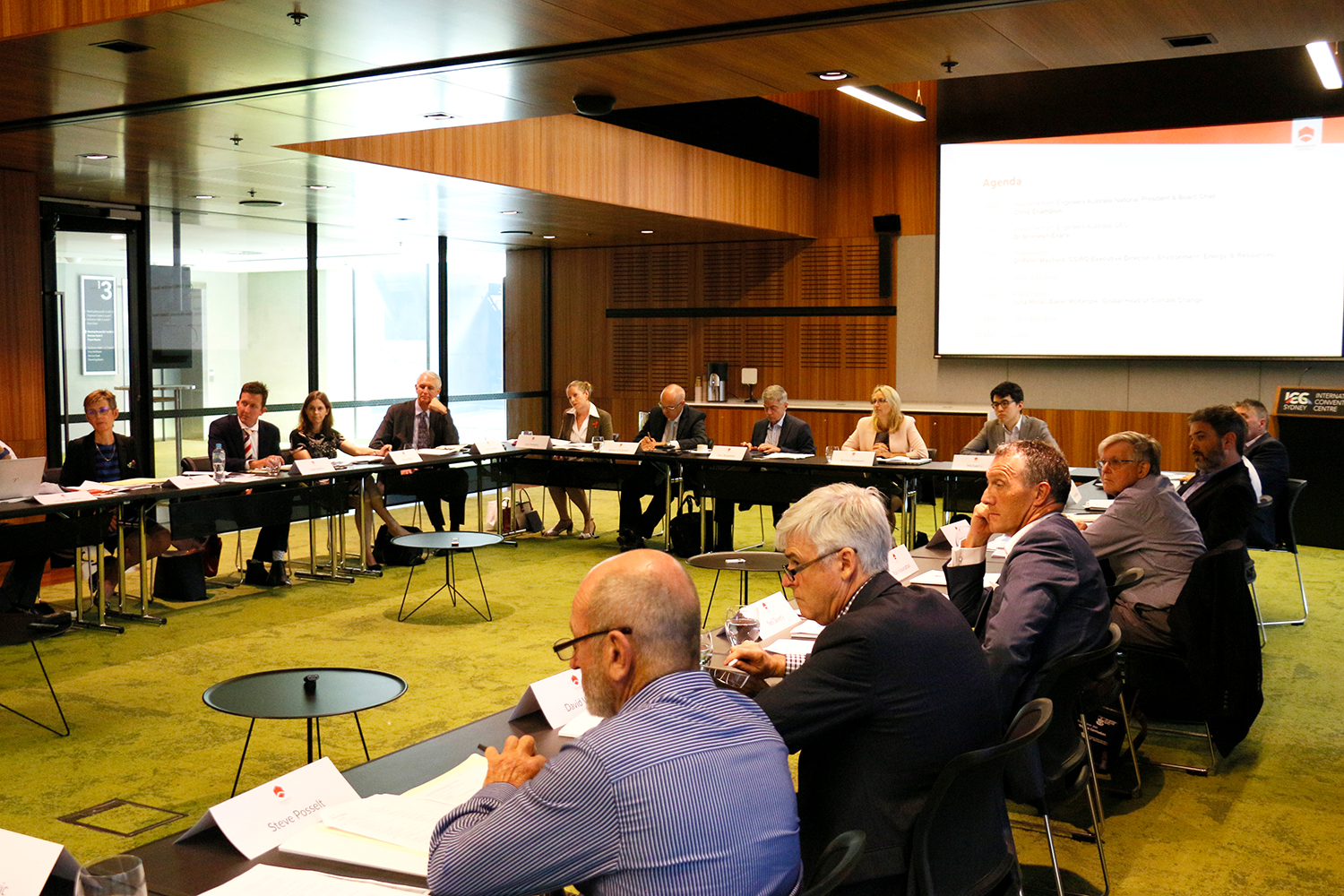 The Engineering Responses to Climate Change Roundtable brought together 26 participants representing industry groups and engineering organisations.