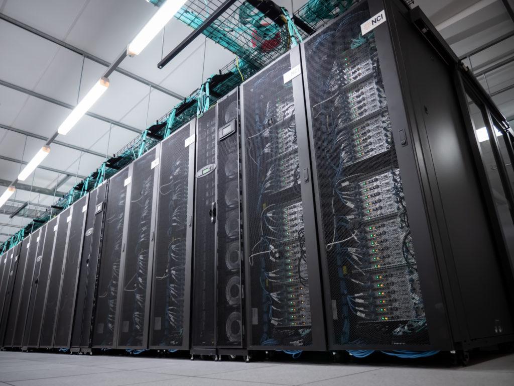 The NCI's 'Gadi' supercomputer. (Image: NCI)