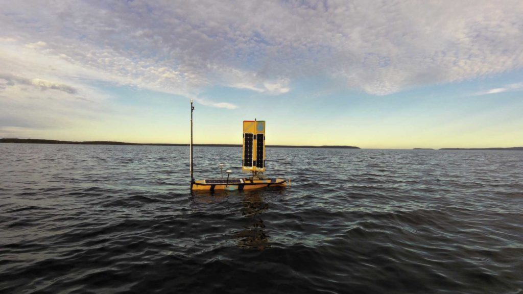 Nemo sailing on Jervis Bay at dusk.