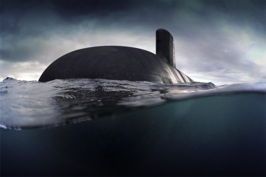 An attack class submarine. (Image: NSC)