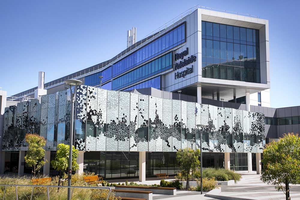 The new Royal Adelaide Hospital is designed to remain fully operational after a 1-in-500-year earthquake event.