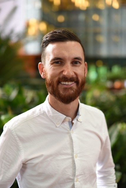 Clinical Research Scientist Ben Baker.
