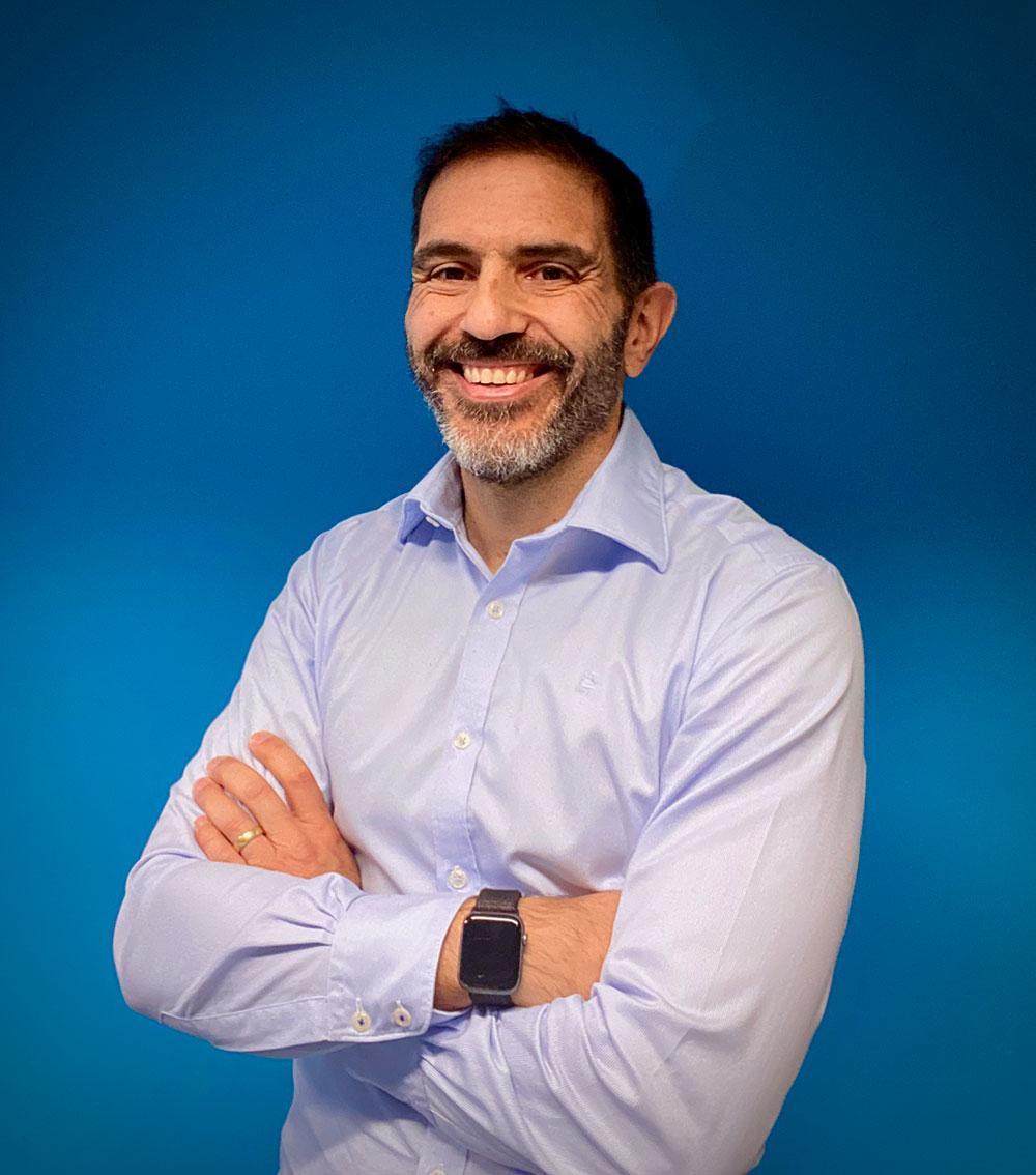 Founder and Director of Bluey Technologies Daniel Bosco.