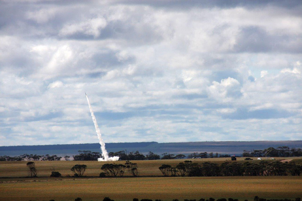 Southern Launch's first successful rocket.