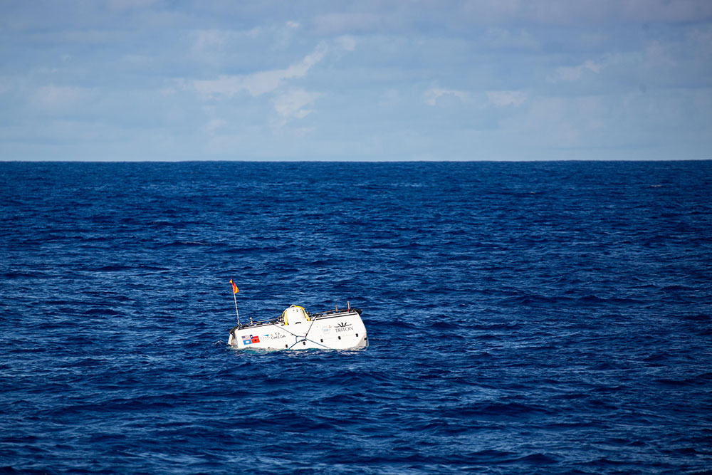 Limiting Factor is the world's first reusable, full ocean depth submersible.