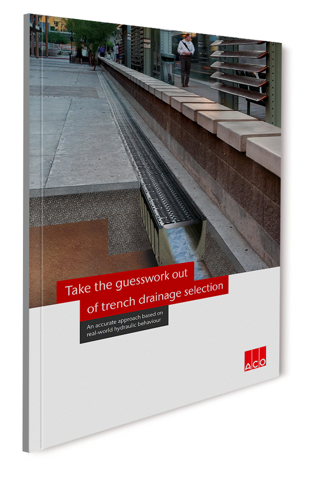 ACO Whitepaper - A straightforward guide to trench drainage selection