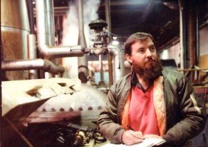 Alan Sheehan at work in 1990.